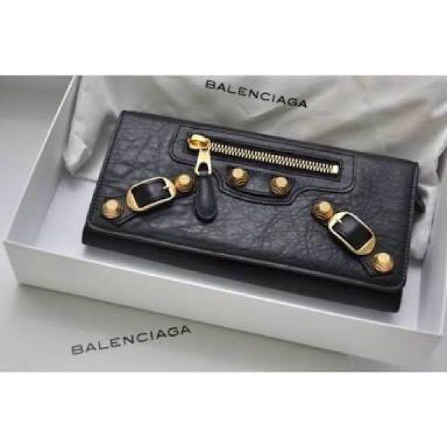 Balenciaga wallet mirror