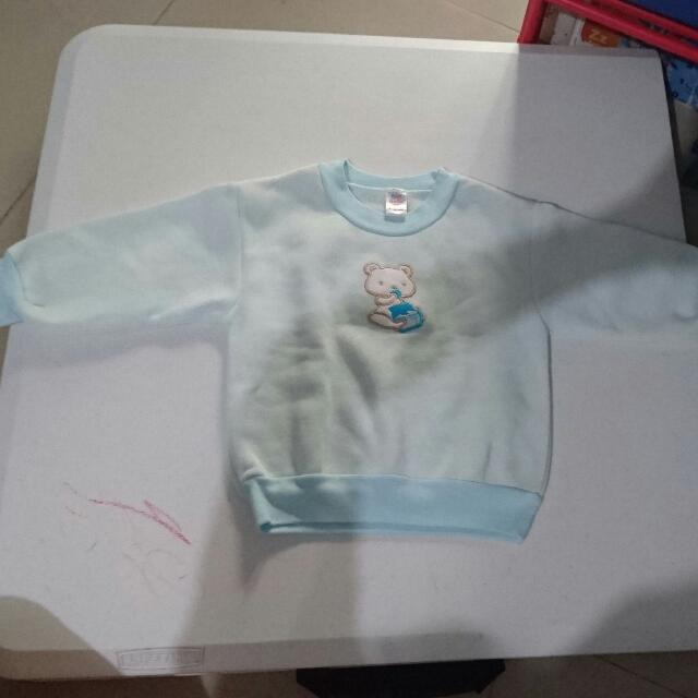 Bebe 9-12 mos Sweater and Jogging Pants