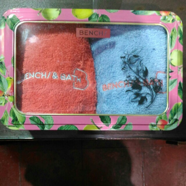 Bench 2-piece face towel set