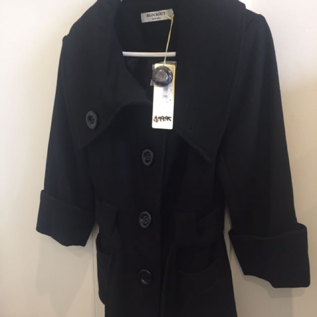 Blockout Australia Black Jacket