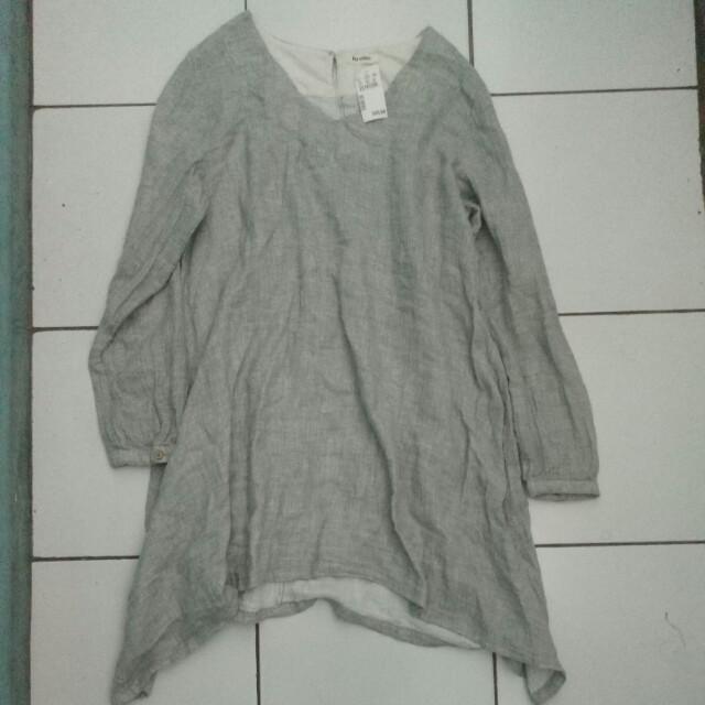 Blouse Bari Grey