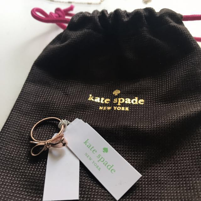 BNWT Kate Spade Bow Ring