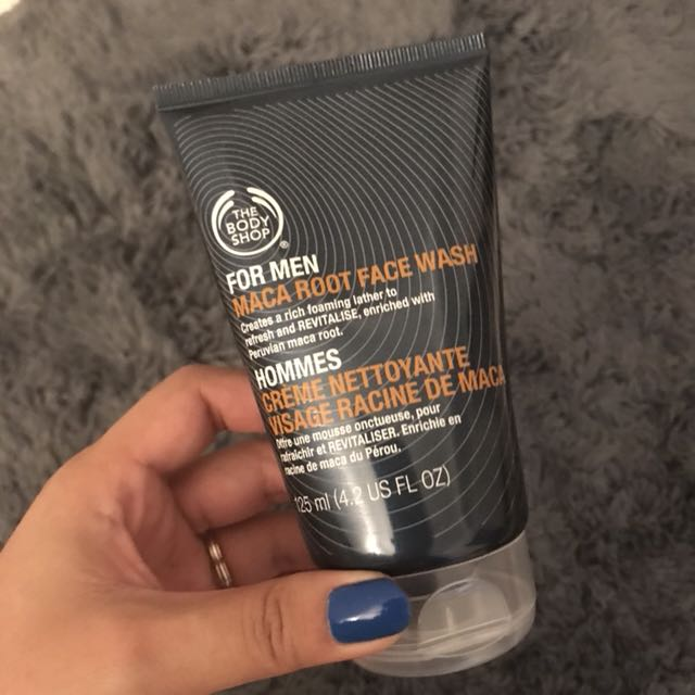Body Shop Maca Root Facial Wash