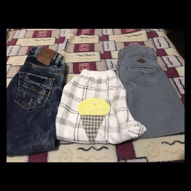 Boys Assorted Pants 2
