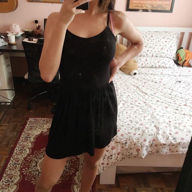 BRAVE SOUL Basic Black Dress