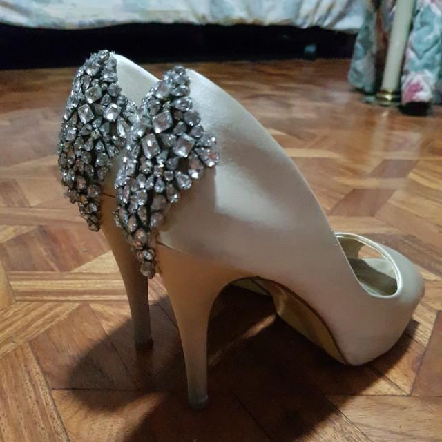"""Bridal Shoes size 7.5"""""""