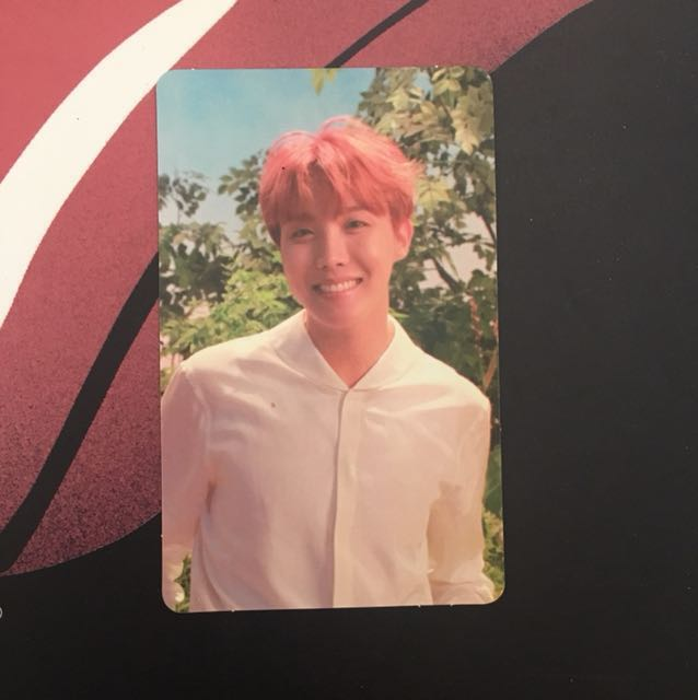 BTS Jhope O ver Love Yourself HER PC