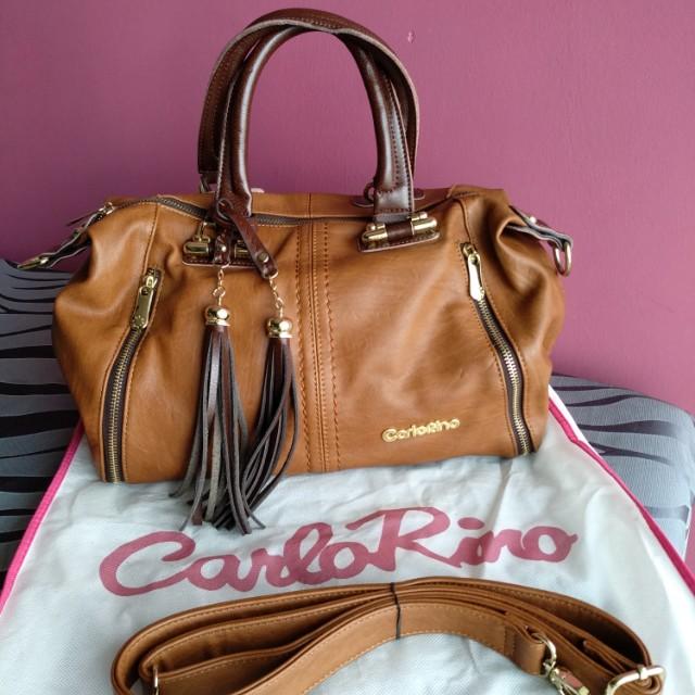 7a089ac76af0 Carlo Rino Original Leather Handbag