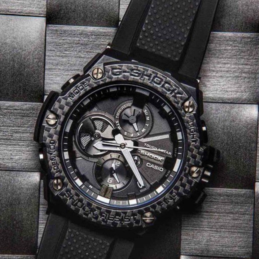 43012a4f647b4 Casio G-Shock G-Steel GST-B100X-1A GST-B100X GST-B100 GSTB100X ...