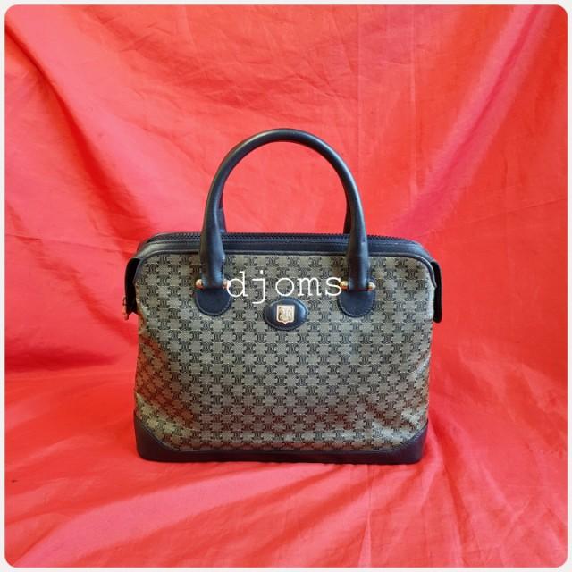 Celine vintage 2 compartment handbag