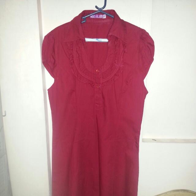 Chinese collar dress