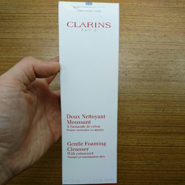 CLARINS克蘭詩棉花籽潔顏泡泡125ml(混合肌適用)