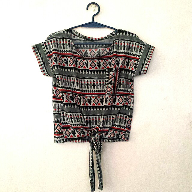 Crop top (aztec)