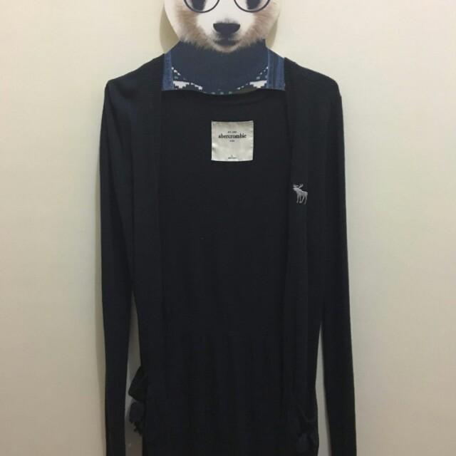 Dark Blue Authentic Abercrombie Cardigan
