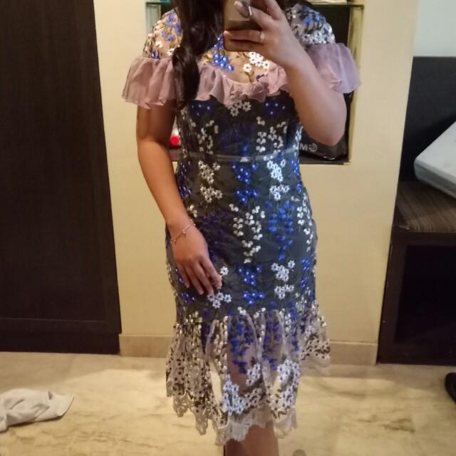 DRESS BANGKOK WANITA BAHAN BAGUS