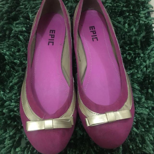 Epic (Natasha) Pink Ballet Flats