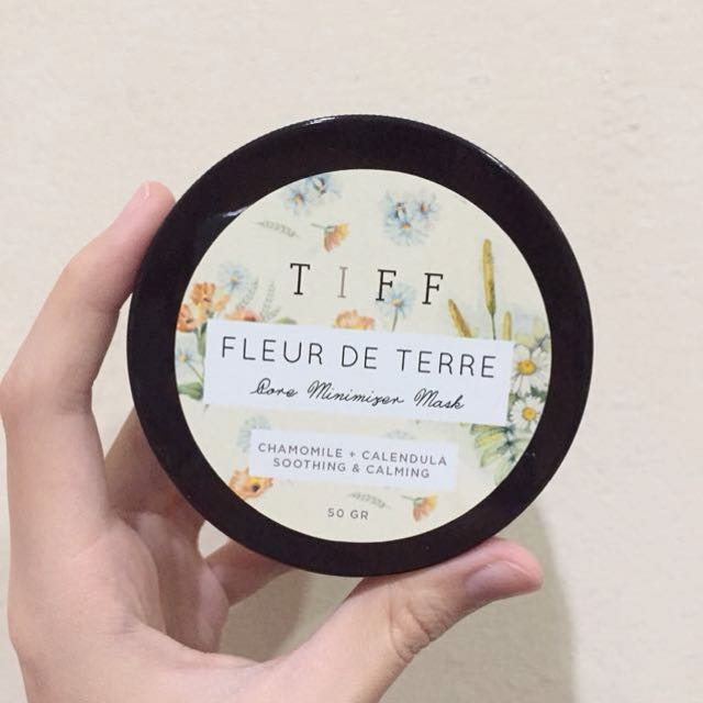 Fleur De Terre Chamomile + Calendula Face Mask