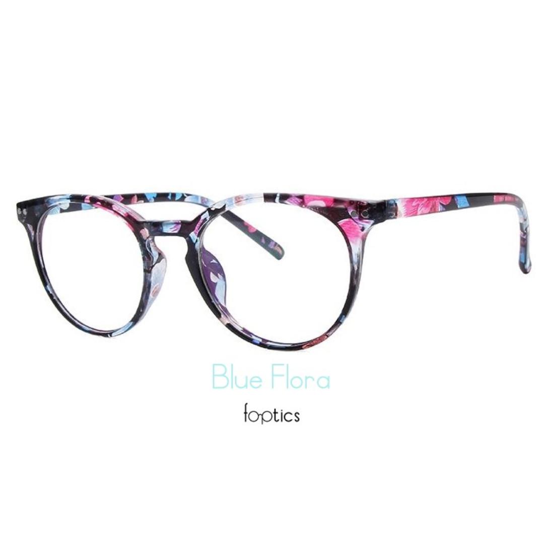 f8db76f0ab foptics Eyewear - Prescription Glasses - Parker in Blue Flora ...