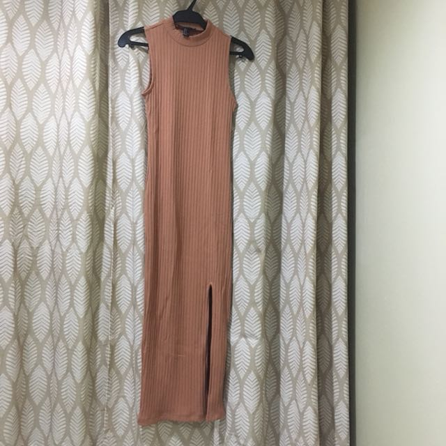 Forever 21 Maxi Ribbed Dress
