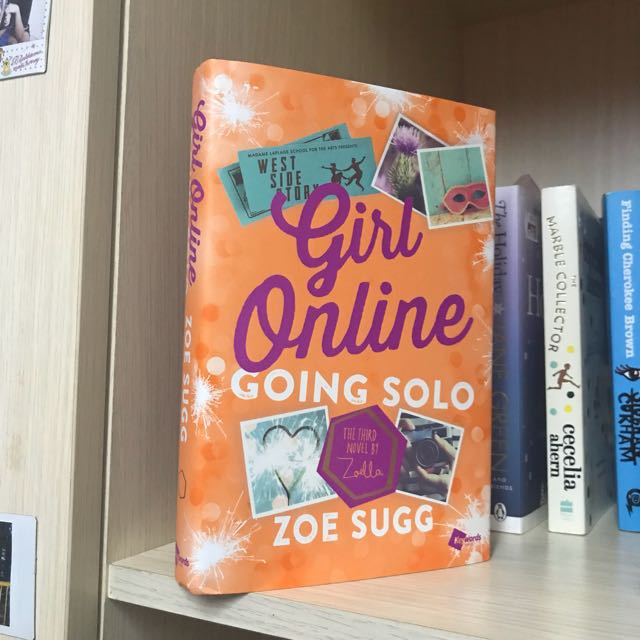 FREE ONGKIR Girl Online Going Solo Hardcover
