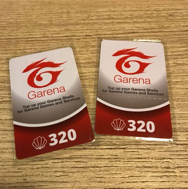 Garena Shells (320) x2 - Quick sale, Entertainment, Gift