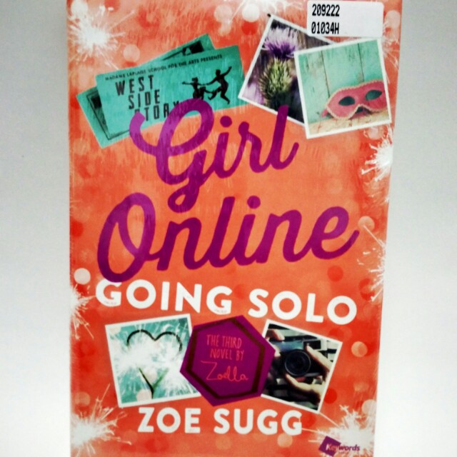 Girl Online 3: Going Solo (HC) by Zoe Sugg