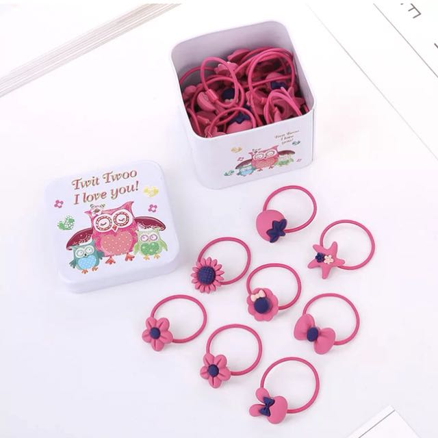 Girls Hair Bands (40pcs/box)