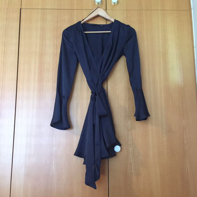 Glassons navy dress