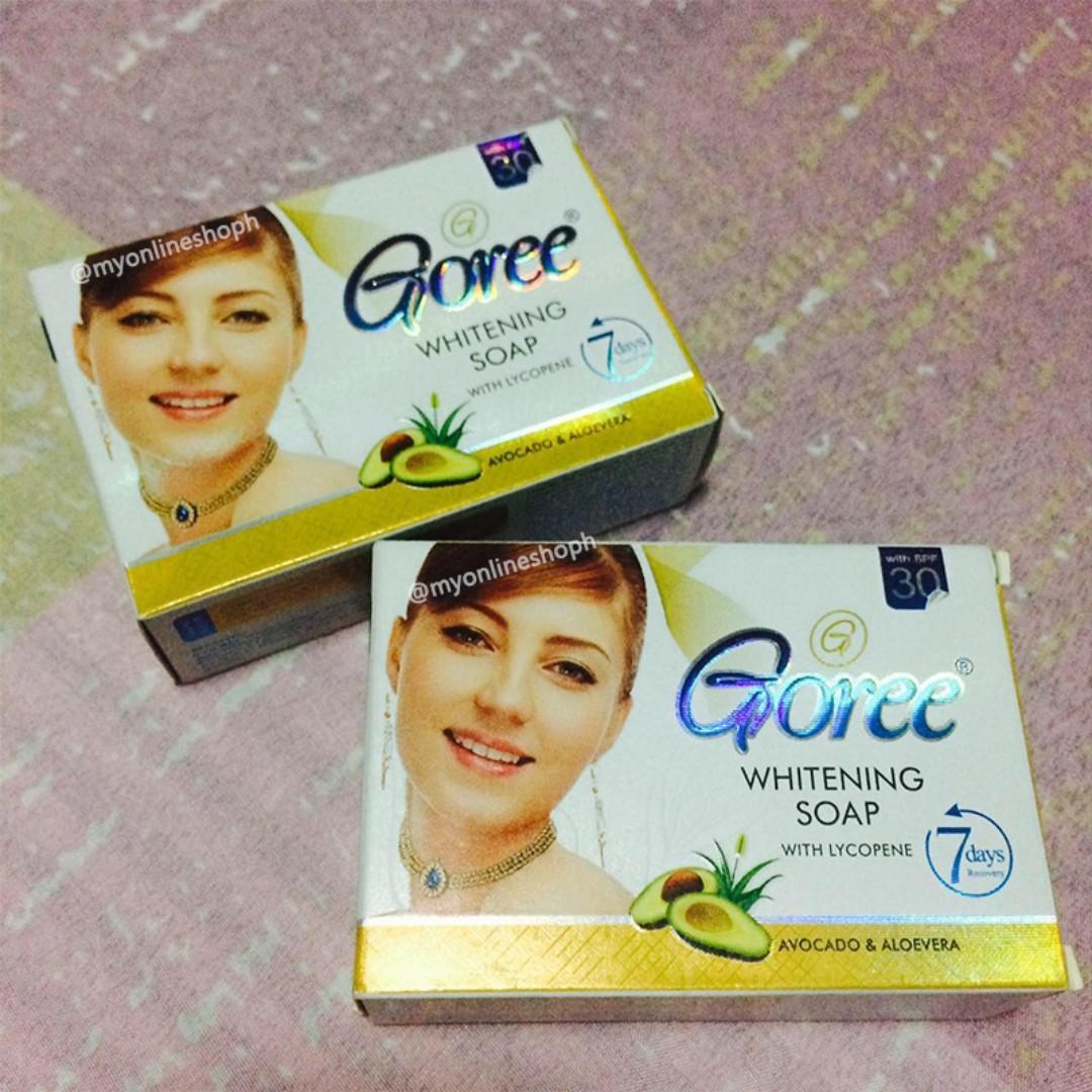 Goree Whitening Soap with Lycopene