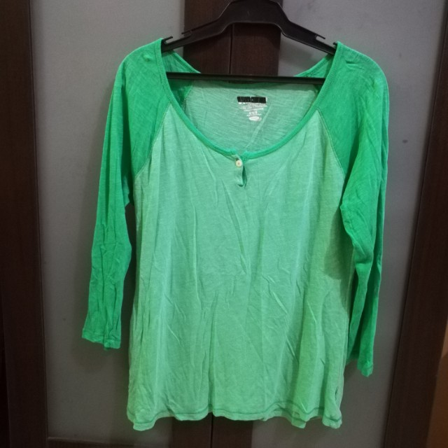 Green Old Navy Shirt Long Sleeves (M)