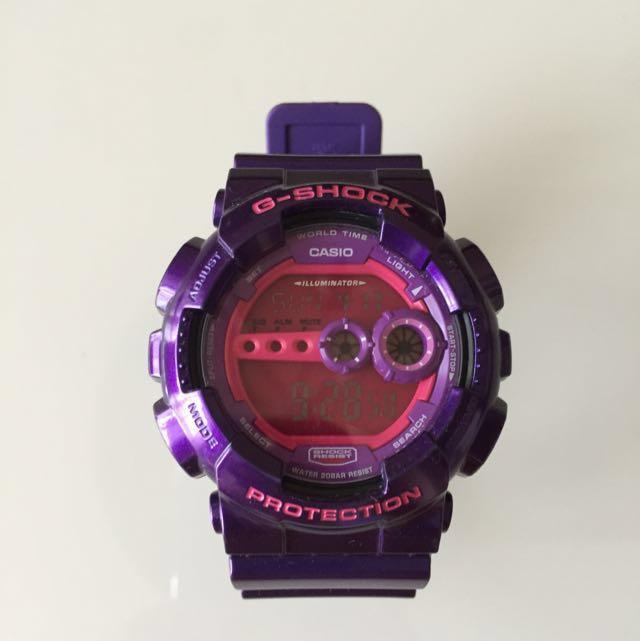 G-SHOCK浪漫紫