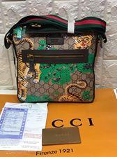 e84e234ec77e Gucci Bengal GG Supreme print messenger bag for men