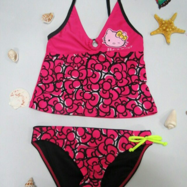 aa3a766086 Hello Kitty Swim Suit Children(Preorder) Free Delivery, Babies ...