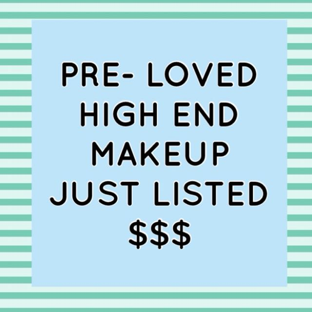High end makeup just listed!