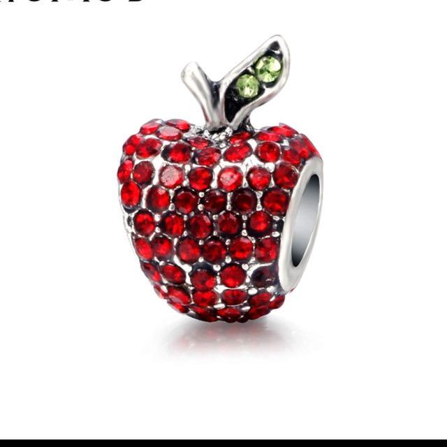 High quality Apple charm for bracelet