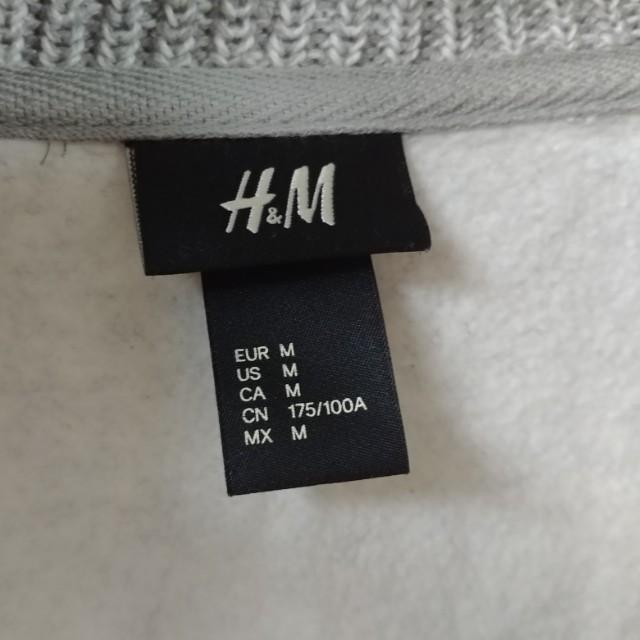 H&M 灰色衛衣