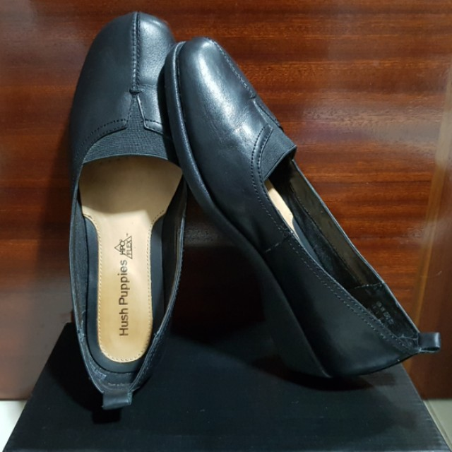 Hush Puppies Black leather shoes (Women