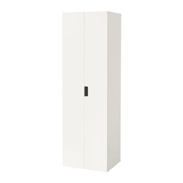 ikea 衣櫃 衣櫥 雙門 附置物籃 置物架 STUVA 有兩個