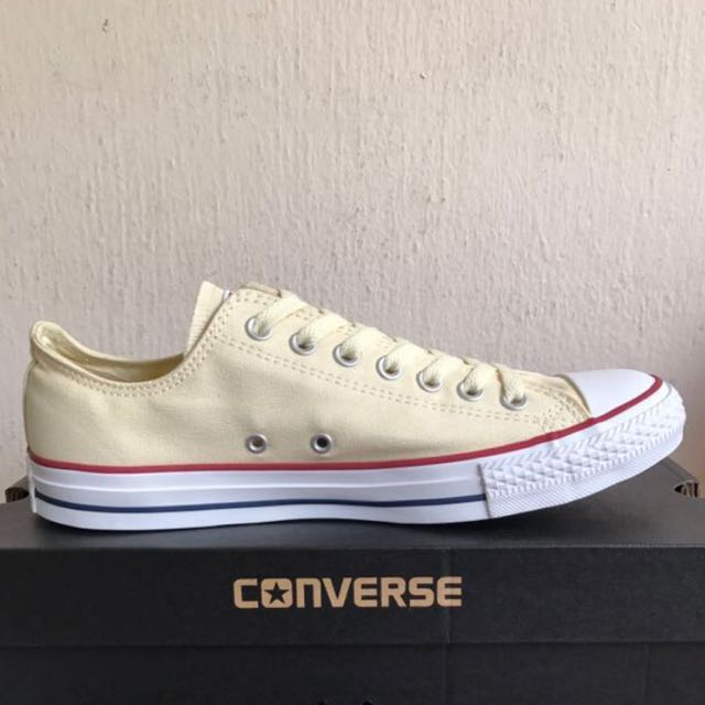 CONVERSE CT AS OFF WHITE LOW CUT CANVAS