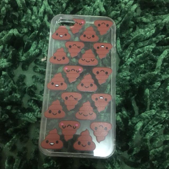 Iphone 5/5s/SE Cute Poop Case