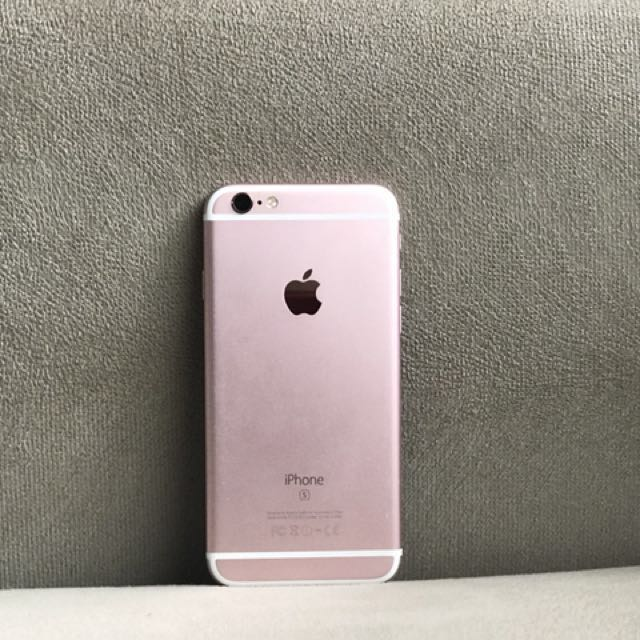 iPhone 6s Rosegold 16gb GLOBE LOCKED