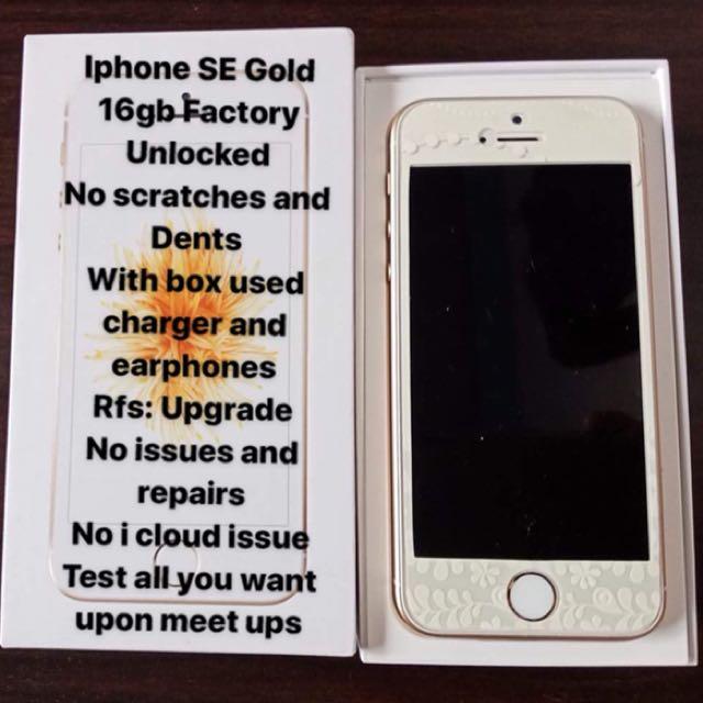 Iphone SE 16gb FU