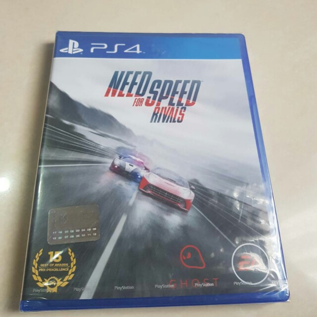 Kaset ps4 need for speed rivals