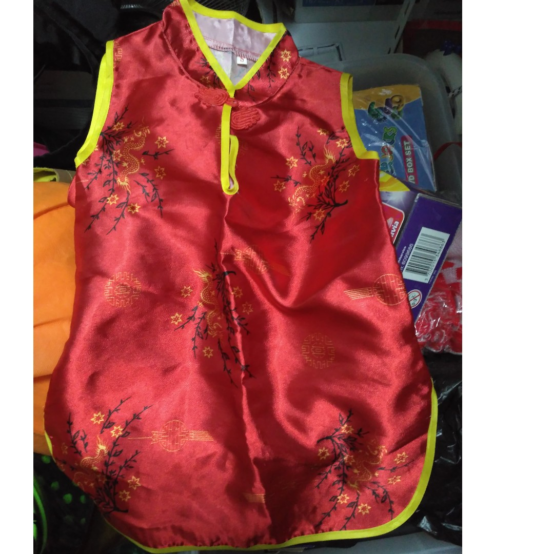 67f900139 Kid - Chinese New Year Dress (up to 15mth) *Relative new, Babies ...