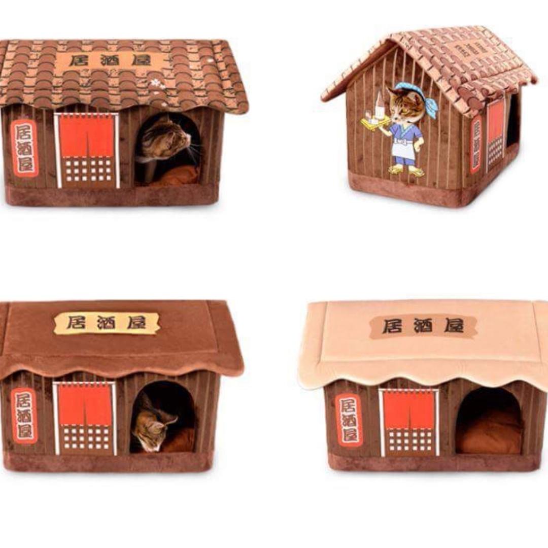 日本Kojima可拆貓咪床連枕頭