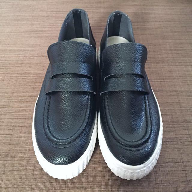 Korean Platform Sneakers