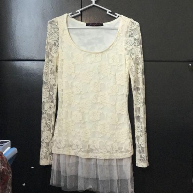 Lace Longsleve blouse