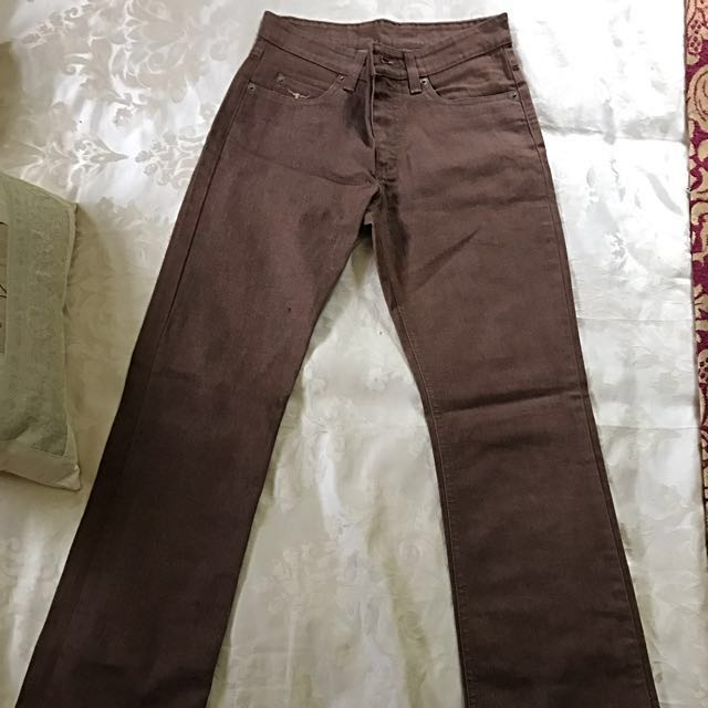 Ladies 8 RM Williams Brown Bootleg Jeans