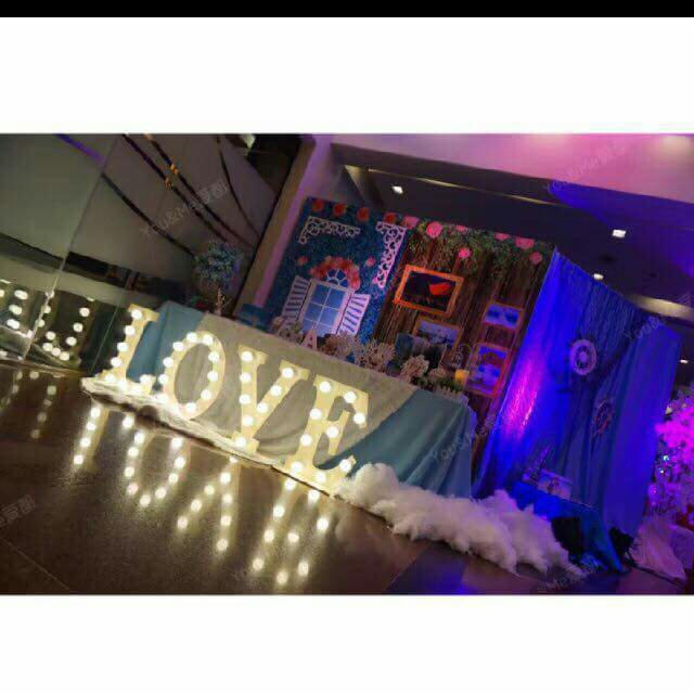 led letter standee design craft handmade goods accessories on carousell