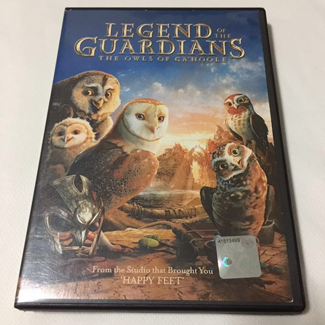 Legend Of The Guardians Book